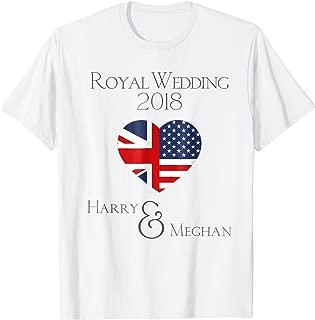 Royal Wedding 2018, Harry and Meghan British American Heart