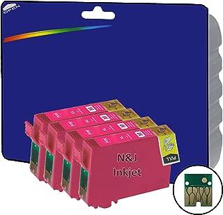 4 Magenta cartuchos de tinta XL no OEM Compatible para Epson ...