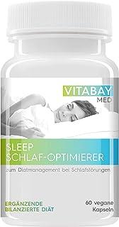 SLEEP – bättre sovsömn. För diethantering vid sömnstörningar. (60 vegankapsel)
