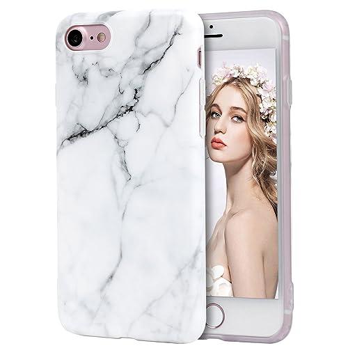 e7674ba57d iPhone 7 Marble Case, iPhone 8 Case, Imikoko® Slim-Fit Anti-
