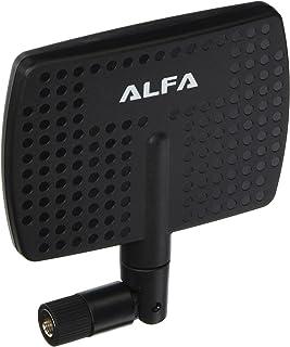 Alfa Network APA-M04 - Antena direccional de Panel Interior (2,4 GHz, 7 dBi de Alta Ganancia con Conector RP-SMA