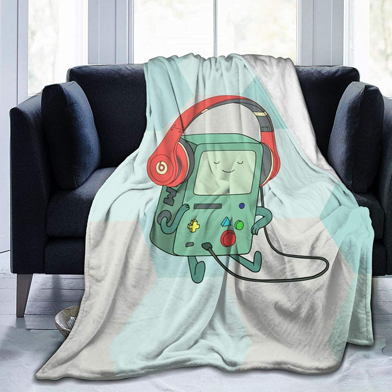 Cartoon SALENEW very popular Flannel Fleece Throw Blanket M Crazy Funny Sale item Lightweight -