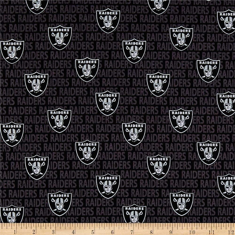 Cotton Fabric Oakland Raiders2020-21 Pocket Calendar /& Appointment Book