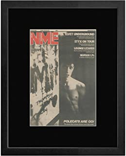 The Polecats - NME Cover April 1981 With Tim Polecat Framed Mini Poster - 53x43cm