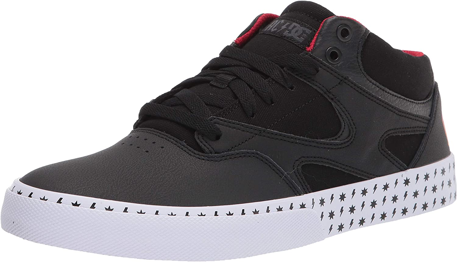 DC Mens Kalis Vulc Mid Ac Band Limited Edition Sneaker Skate Shoe