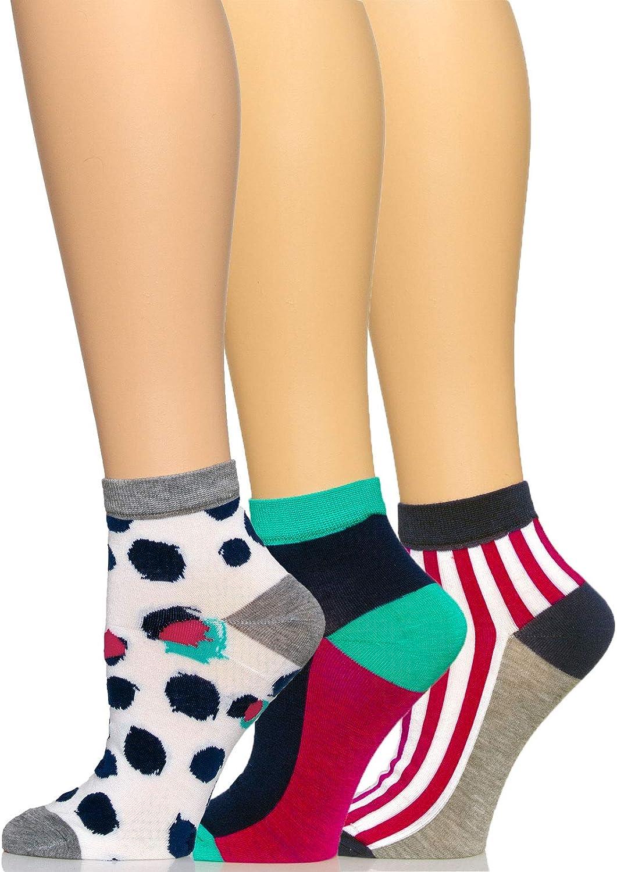 Felina   Anklet Socks 3-Pack   One Size Fits All