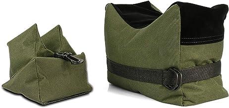 Twod در فضای باز تیراندازی استراحت کیسه های ورزشی هدف تیراندازی پایه استراحت پشتیبانی جلو و عقب SandBag پایه دارندگان برای اسلحه اسلحه شکار عکاسی - غیرفعال