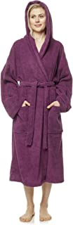 Albornoz de Hombre y Mujer, 100% algodón, Medio-Largo o Maxi-Largo, con Capucha, Bata de baño