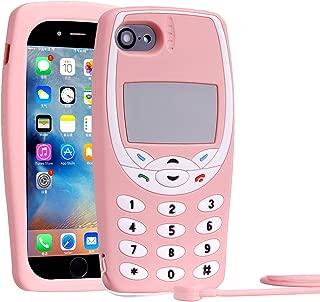 Mulafnxal 3D Nokiya Classic Silicone Case for iPhone 8/7 / 6S / 6 4.7