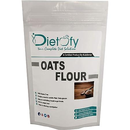 Dietofy Oats Flour, 900gm [All Natural, Nutritious, Fiber-Rich Oats Atta