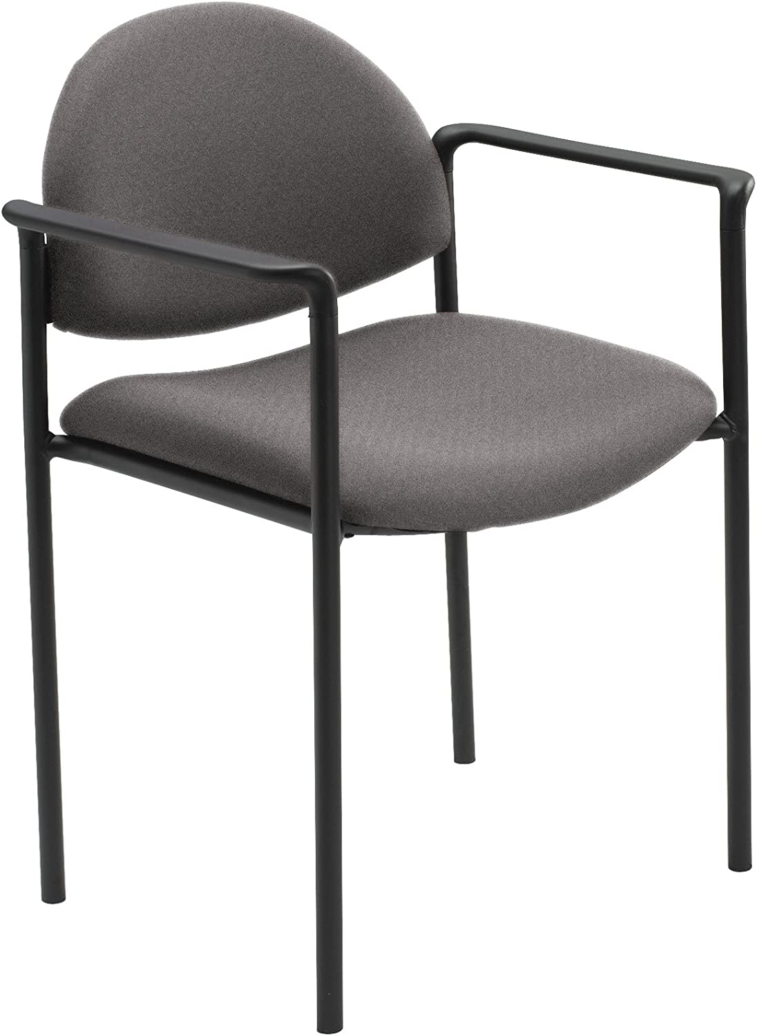 Safco SAF7010GR Wicket Stack Chair, 22-1 4  x 20-3 4  x 31 , Grey