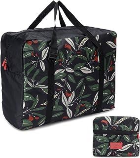 ADGAI Oil Painting Flower Canvas Travel Weekender Bag,Fashion Custom Lightweight Large Capacity Portable Luggage Bag,Suitcase Trolley Bag