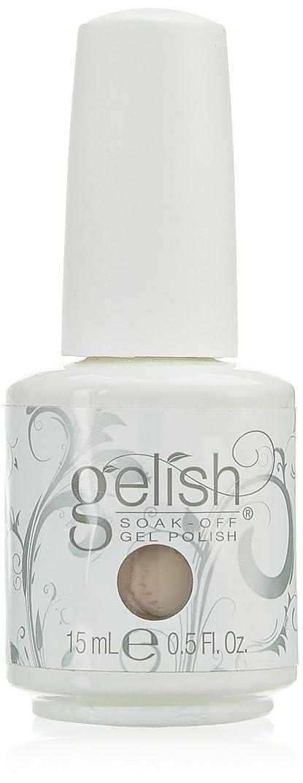 病者大使館罹患率Harmony Gelish Gel Polish - Tan My Hide - 0.5oz / 15ml