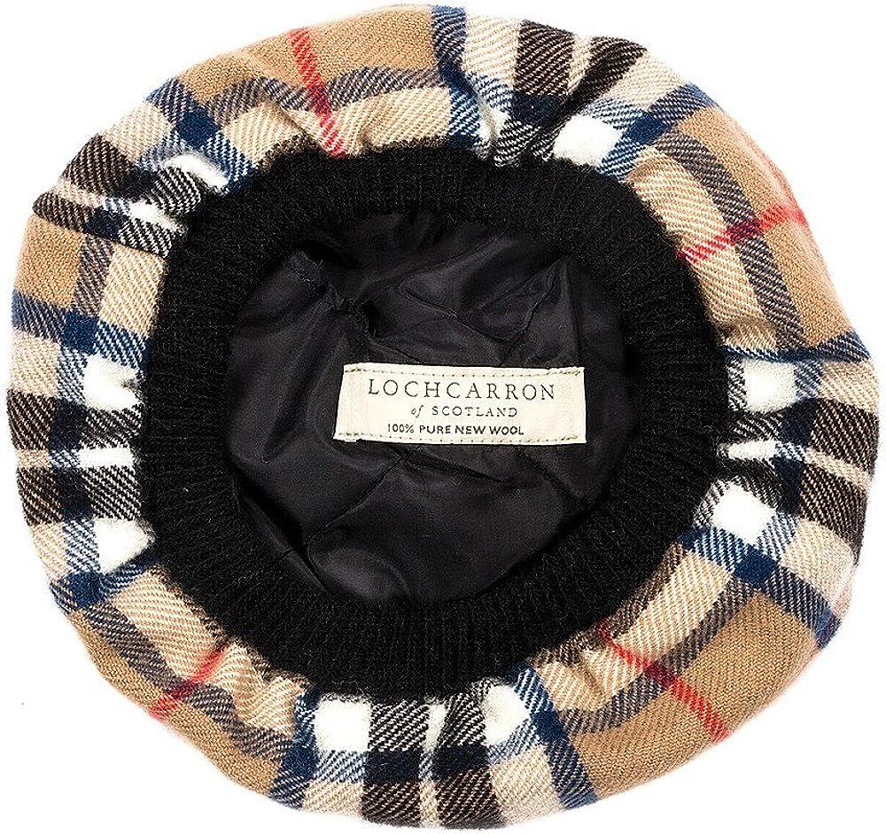 Lochcarron Of Scotland Tam O Shanter M/ütze aus Lammwolle Lindsay