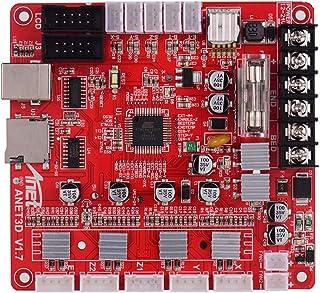 Deofficially Anet A1284-Base V1.7 Placa base de la placa base Placa base para Anet A8 Plus DIY Auto ensamblaje Impresora de escritorio 3D Kit RepRap i3 Suministros de actualización 24V