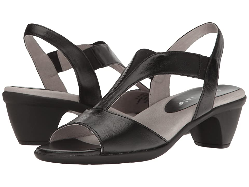 David Tate Accord (Black Glazed Calf) Women