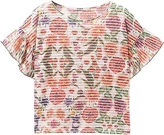 10bd4eca130964 Amazon.fr : pour - Desigual / T-shirts, tops et chemisiers / Femme ...