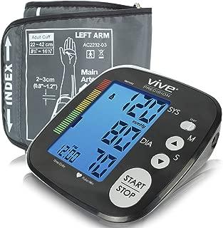 Vive Precision Blood Pressure Machine – Heart Rate Monitor – Automatic BPM..