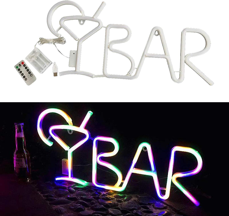 Party Neonschilder Home Mann Cave Baoblaze Bar Neon Zeichen f/ür BAR Licht Up Brief LED Neon Schilder USB//Batterie Powered Wand Kunst Dekor f/ür Pub