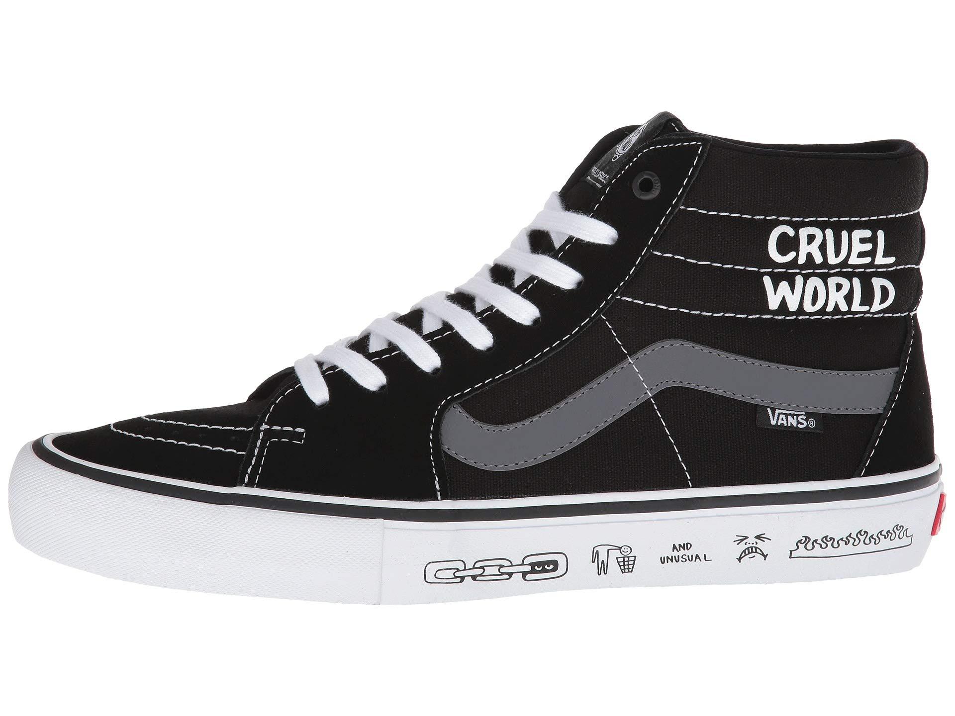Sk8 hi™ white cult Black Pro Vans 0x7OwYzqq