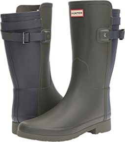 Hunter - Original Short Refined Back Strap Rain Boots