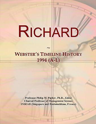 Richard: Websters Timeline History, 1994 (A-L)