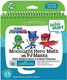 LeapFrog LeapStart Moonlight Hero Math with PJ Masks Book