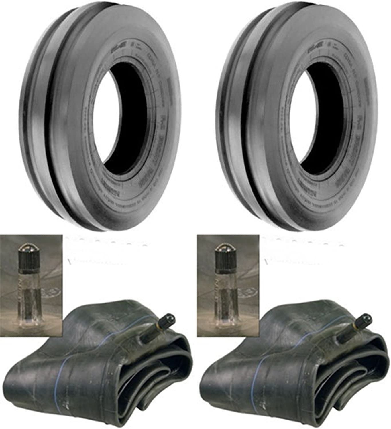 LOT of sale Two 2 Sale price 4.00-15 4.00x15 with Tires Rib Tubes 3 Tri