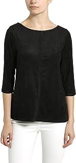 Camiseta de mujer con mangas tres cuartos