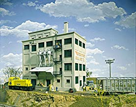 Walthers Cornerstone HO Scale Model Red Wing Flouro Mill
