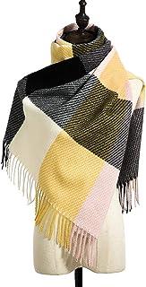 Schal Mode Kaschmir Frauen Plaid Schal Winter Warmen Schal Und Wickel Bandana Weiblichen Foulard Lange Dicke Decke Schals