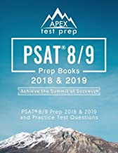 PSAT 8/9 Prep Books 2018 & 2019: Test Prep Reading, Writing, & Math Workbook and Practice Test Questions