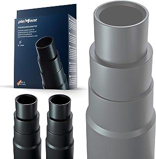 Adaptador aspiradora Plemont® [pack de 2] para aspiradoras comunes de taller - Adaptador tubo aspiradora para amoladora, sierra de calar, sierra circular, cualquiera lijadora rotorbital - Reductor