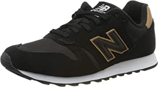 New Balance Men's 373 Suede Trainers, Black
