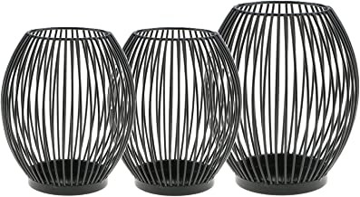 3/Set 3X Iron Candle Holder Candelabrum Votive Tealight Events Holiday Home
