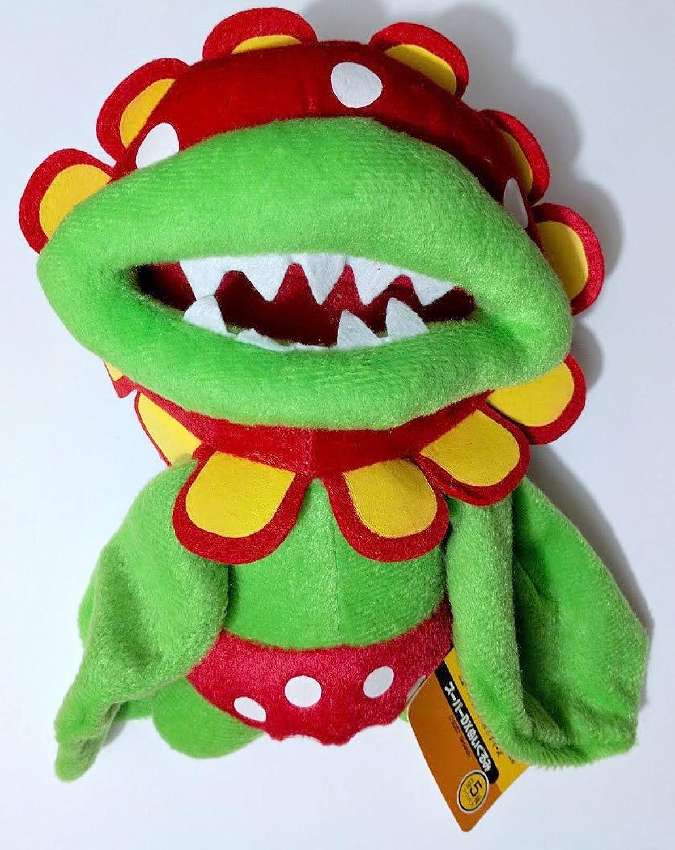 Super Mario Bros Petey Piranha 7 Plush Toy by ToyKingToys