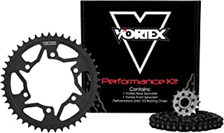 Vortex CK6291 Chain and Sprocket Kit, Black
