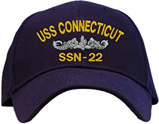 USS Connecticut SSN-22 Embroidered Baseball Cap - Navy