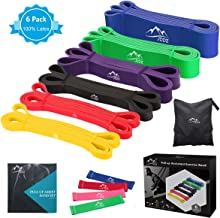 JDDZ Pull up Assist Bands, Stretch Resistance Bands   Powerlifting Bands,Mobility Workout Bands,Exercise Band for Body Fitness Training,Chin Ups,Stretch