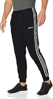 adidas Men's E 3-Stripes T Pants Ft Pants, Black, Medium
