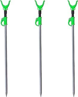 M80 TX 3 Pack - Aluminum Telescopic Fishing Rod Holders for Bank Fishing