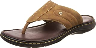 BATA Men's Terrance Cushion Brown Slippers-9 UK (43 EU) (8714343)