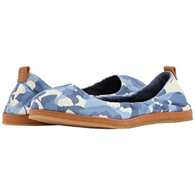 TOMS Olivia (Infinity Blue Abstract Leaf) Women