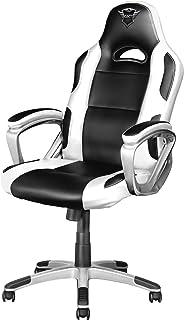 Trust Gaming GXT 705W Ryon Sedia Gaming Ergonomica, Progettata per Offrire Ore di Confortevoli Sessioni di Gioco, Bianco