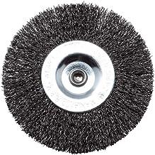 Grizzly ERB 550-3U Vervangende voegenborstel, ronde borstel van metaal voor Grizzly universele borstel, elektrische voegen...