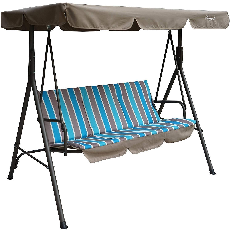Kozyard Comfortable Cushion Resistant Blue Stripe