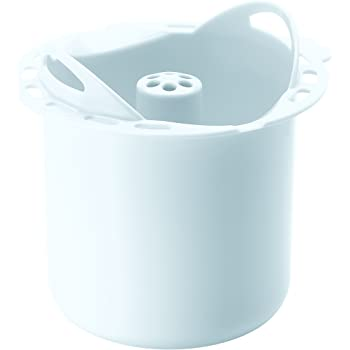 Béaba - Pasta and Rice Cooker - Starchy Food Cooking Basket for Babycook and Babycook Plus - for Babies and Children - White