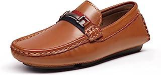 Sponsored Ad - Bruno Marc Boy's Loafer Slip-On Dress Shoes