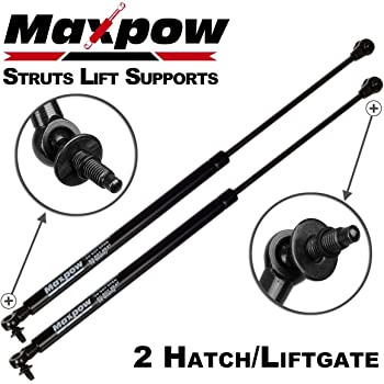 GHDBHFD 2PCS Rear Liftgate Hatch Lift Support Struts For Jeep Grand Cherokee WH WK 2005 2006 2007 2008 2009 2010 Auto Accessories