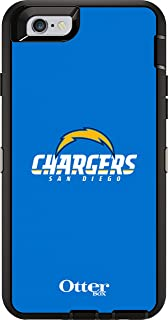 OtterBox Defender Case for Apple iPhone 6 - Retail Packaging - NFL Chargers (Black San Diego Chargers NFL Logo)